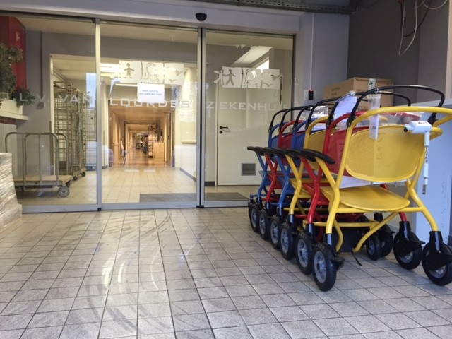 OLV Lourdes Ziekenhuis te Waregem heeft voor onze kwaliteit en service gekozen  De Rijcker - Ganda Orthopedica bvba