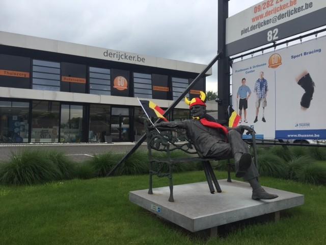 EK 2016 Rode Duivels  De Rijcker - Ganda Orthopedica bvba