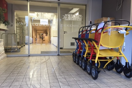 OLV Lourdes Ziekenhuis te Waregem heeft voor onze kwaliteit en service gekozen