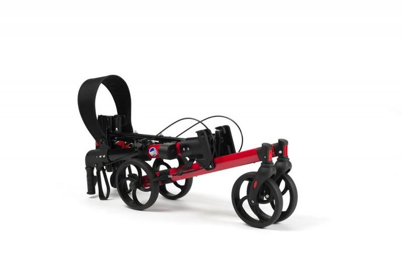 Quava -Lichte, compacte rollator met fraai design De Rijcker GO