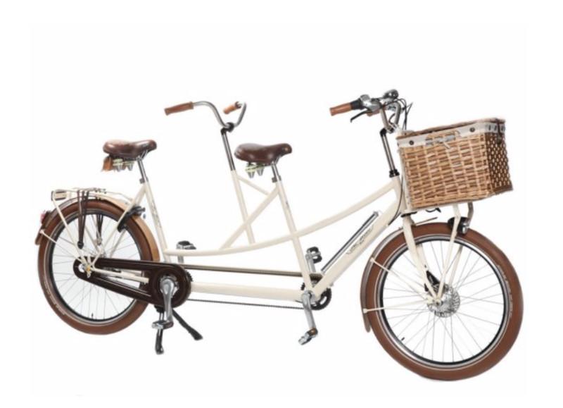 Tribike Retro Tandem De Rijcker GO