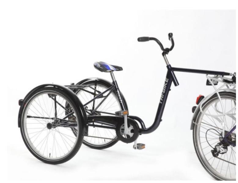 Tribike Trailer Bike De Rijcker GO