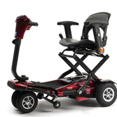 Sedna - plooibare scooter  De Rijcker - Ganda Orthopedica bvba